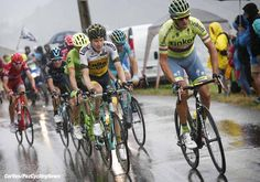 Morzine - France  - wielrennen - cycling - radsport - cyclisme -  Roman Kreuziger (CZE-Tinkoff) - Wilco Kelderman (NED-LottoNL-Jumbo)  pictured during stage 20 of the 2016 Tour de France from Megeve to Morzine, 146.00 km - photo Dion Kerkhoffs/Davy Rietbergen/Cor Vos © 2016