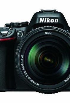 Nikon D5200 DSLR Camera Bundle with Lens, Filter & Accessories (16 Items) – International Version $624.94