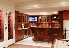 New Canaan Private Residence - traditional - basement - new york - Country Club Homes