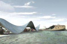 baltic sea art park by kilometre zero reconnects water, land, and city