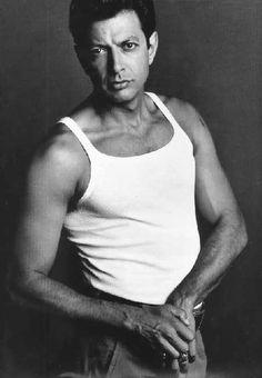 Jeff Goldblum- yes i think i will frame this for Jacob....