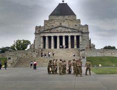 The Shrine of Remebrance,Melbourne