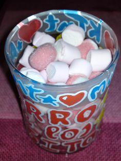 tarro de besos, regalo muy dulce