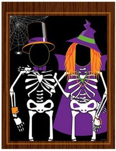 Party Central Pack of 6 Mr. Skeleton Spooky Halloween Photo Op Cut-Out Party Banners Halloween Party Supplies, Halloween Party Games, Halloween Crafts For Kids, Halloween Birthday, Halloween Party Decor, Casa Halloween, Halloween Carnival, Halloween Photos, Holidays Halloween