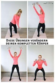 Laut Fitness-Guru Betina Gozo brauchst du lediglich zwei Übungen, um deinen gesamten Körper zu trainieren. Lese mehr zu dem Workout auf ELLE.de! #workout #fitness #sports #weight #excercises #lifestyle #trending
