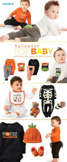 Check out the Halloween BOOtique for costumes, outfit sets, pjs & more!