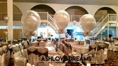 Balloon Decorations, Wine Glass, Balloons, Chandelier, Ceiling Lights, Dreams, Engagement, Tableware, Birthday