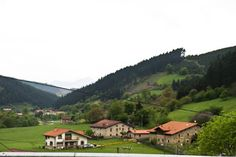 Spain, Basque Country, Bilbao. The house in the middle looks like the one my grandpa grew up in.