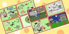 What the Ladybird Heard Story Sequencing Cards - what the ladybird heard, story sequencing, story sequencing cards, 4 per ordering, sequencing Sequencing Cards, Story Sequencing, What The Ladybird Heard Activities, Teaching Activities, Teaching Strategies, Story Sack, Early Years Classroom, Kids Poems, Best Children Books