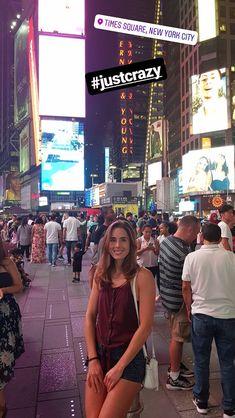 Alize Cornet New York City, Times Square, Tennis, Travel, Viajes, New York, Destinations, Traveling, Nyc