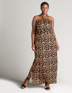 African-printed bandeau maxi dress by Anna Scholz. Shop now: http://www.navabi.us/dresses-anna-scholz-african-printed-bandeau-maxi-dress-black-curcuma-31342-2491.html?utm_source=pinterest&utm_medium=social-media&utm_campaign=pin-it