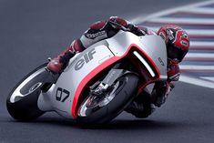 Huge Moto's retro-futuristic Honda CBR1000RR-based concept.
