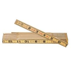 Klein Tools Folding Wood Rules - 6' wooden rule