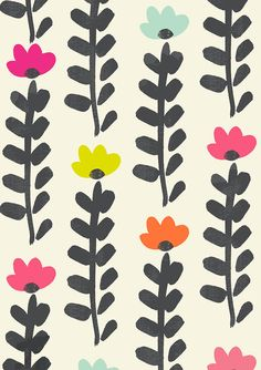 Susan Driscoll surface pattern design   via Jelena Jovanovic