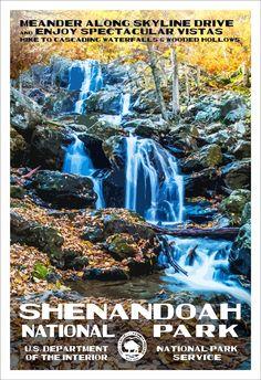 Shenandoah National Park | National Park Posters