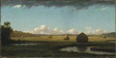 "NPM on Twitter: ""The American Northeast coastal salt marshes in #Summer Showers, Martin Johnson Heade, 1865 ~…"