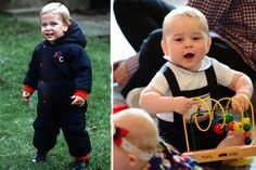 George Looks Exactly Like Dad William - Baby Pictures of Prince George - Good Housekeeping