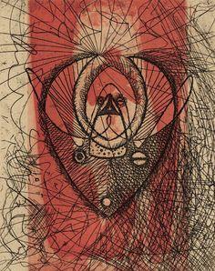 Max Ernst, Untitled, La Brebis galante, Éditions premières, Paris, 1949.