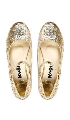 Wear with jeans always! Glitter Mary Jane Flats