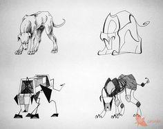 стилизация животных