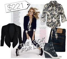 """""""Hip Hop Heidi- The Look for Less"""" by susanpetunia ❤ liked on Polyvore"""