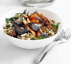 Spiced vegetable pilaf