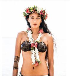 Beautiful Rauata Temauri from Tahiti.