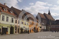 black-church-seen-council-square-romania-transylvania-brasov Transylvania Romania, Black Church, Mansions, House Styles, Home Decor, Mansion Houses, Decoration Home, Manor Houses, Villas