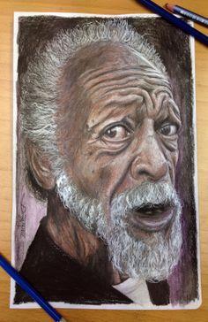 One more color pencil portrait by AtomiccircuS.deviantart.com on @deviantART