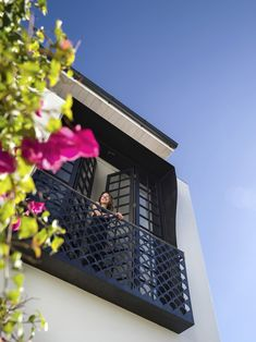 Juliet Balcony in a Woollhahra Row House by Luigi Rosselli Architects