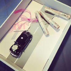liebelein-will, Hochzeitsblog - Geldgeschenke, Auto Beautiful Gifts, Goodie Bags, Dyi, Goodies, Wedding Photography, Birthday, Tips, Log Projects, Souvenir