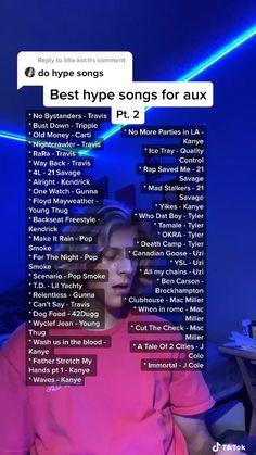Lit Songs, Mood Songs, Music Songs, Hype Rap Songs, Teen Songs, Party Music Playlist, Rap Playlist, Summer Playlist, Positive Songs