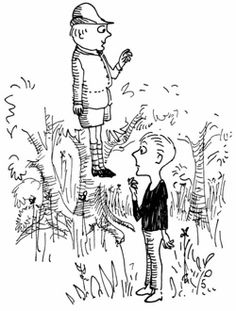 """An illustration by Jules Feiffer, from """"The Phantom Tollbooth"""" by Norton Juster"""