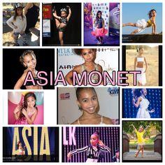 Asia edits Asia Ray, Baseball Cards