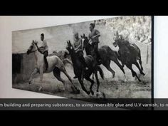 How To - Photo Encaustic Trailer - YouTube