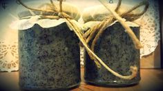 Peeling gel with poppy seed Gelato, Body Care, Poppy, Seeds, Canning, Handmade, Ice Cream, Hand Made, Home Canning
