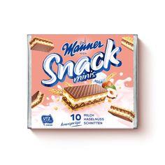 Station 1 - Gewinne Radurlaub im Burgenland | Manner.com Snacks, Snack Recipes, Minis, Manners, Pop Tarts, Packaging, Food, Snack Mix Recipes, Appetizers