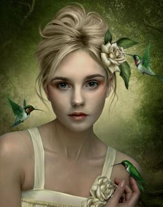 Digital painting by Elena Dudina