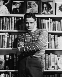 That lean. | 19 Reasons Young Marlon Brando Will Ruin You For The Rest Of The Day