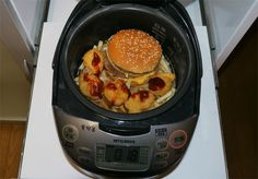 【Thursday Throwback】We Cook a Big Mac Value Meal in a Rice Cooker, Triumphant Results