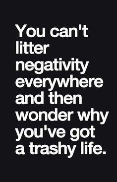 you've got a trashy life