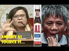 Senator Leila De Lima's Mysterious A1 Source Edgar Matobato Philippine News, Mysterious, Lima, Mystery, Limes