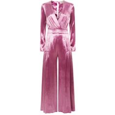 Temperley London Breeze Wrap Jumpsuit (€1.465) ❤ liked on Polyvore featuring jumpsuits, jump suit, purple jumpsuit, temperley london, temperley london jumpsuit and wrap jumpsuit
