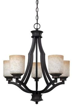 Patriot LightingR Warren 24 Rubbed Antique Bronze Transitional Chandelier At MenardsR