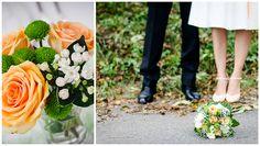 Welche Farben soll man für die Hochzeit auswählen? Wunderschön und sehr passend fand ich diese Farben einer Herbst-Hochzeit