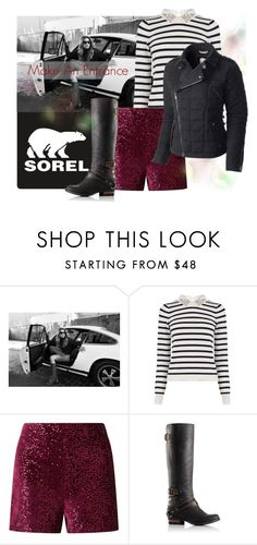 """""""Contest Entry: Sorel Make an Entrance"""" by interesting-times ❤ liked on Polyvore featuring SOREL, Oasis and Miss Selfridge"""