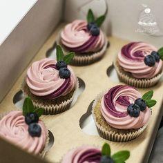 31 Ideas Cupcakes Birthday Ideas Treats For 2019 Wedding Cakes With Cupcakes, Fun Cupcakes, Birthday Cupcakes, Blueberry Cupcakes, Cupcakes Design, Lemon Cupcakes, Strawberry Cupcakes, Baking Cupcakes, Cake Wedding