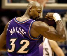 Karl Malone - ESPN Basketball Documentary Documentary on NBA legend Karl Malone, power forward for the Utah Jazz for 18 seasons, and multiple time record hol. Jazz Basketball, Love And Basketball, Basketball Legends, Basketball Players, Basketball Floor, College Basketball, Karl Malone, John Stockton, Larry Bird
