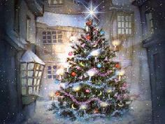 animated christmas snow scenes - Google Search