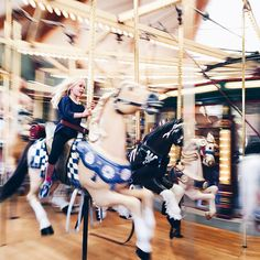 One final ride on the carousel. #Missoula